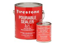Pourable sealant