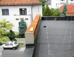 Waterproofing of terraces and balconys