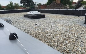 EPDM ballasted system